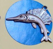 Charm B86 Fish Sterling Silver Vintage Bracelet