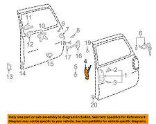 TOYOTA OEM 97-00 RAV4 Back Door-Lock 6935042021