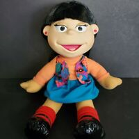"""Julie Woo Chinese American 14"""" Doll The Puzzle Place 1994 Fisher Price Vintage"""