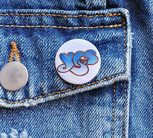 YES (prog rock band) - Small Button Badge - 26mm diameter