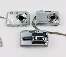 Digital Camera Lot Sony Cybershot  HP Photosmart M527  FujiFilm Finepix A330