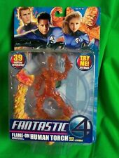 """Human Torch: Fantastic 4: Flame-On 6"""" Figure by Toy Biz"""