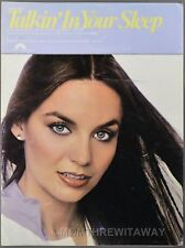 1978 TALKIN' IN YOUR SLEEP Cook and Woods CRYSTAL GAYLE Sheet Music