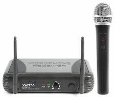 Top Micro Main VHF DJ PA Dynamique sans fil Skytec Stwm711 1 Canal RECEPTEUR 50m