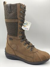 ALLROUNDER BY MEPHISTO ARINA ESPRESSO LEATHER CASUAL FASHION BOOT [SIZE 9.5]