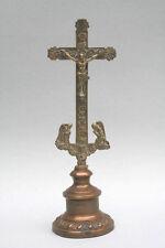 Crocifisso, bronzo, per 1800-Fiori Croce