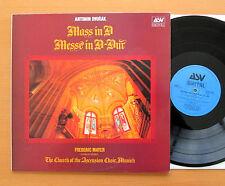 ASV DCA 578 Dvorak Mass in D Frederic Mayer Church Of Ascension Munich NM/EX