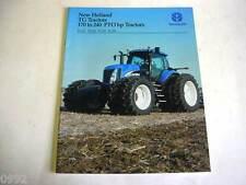 New Holland 170 to 240 HP Tractors Color Brochure                         b3
