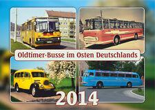 """Kalender """"Oldtimer-Busse im Osten Deutschlands 2014"""" +++ Wandkalender"""