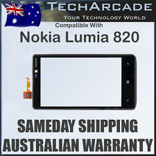 Nokia Lumia 820 Touch Screen Front Digitizer Glass with Frame Black Genuine OEM