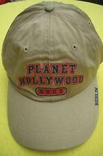 Planet hollywood Berlin Beige Basecap 2000 NWT xl photos