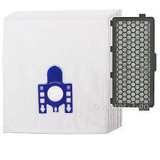 10 X Aspirador Miele Bolsas Gn S6000-s6999 Gato Perro + activo de aire filtro HEPA