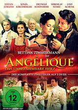Angélique - Das unbezähmbare Herz * DVD 2-Teiler Serie Film Pidax Neu Ovp