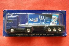 TRUCK semi remorque MAN 1/87 transport LESSIVE CALGONIT neuf sous blister :GRELL