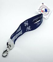MLB New York Yankees Wristlet Lanyard Keychain Officially Licensed