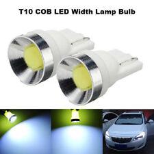 2x New T10 194 168 W5W COB LED Width Wedge Side Light Lamp Bulb 6000K White