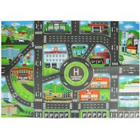 83*57cm Simulation City Traffic Road Building Parking Map Kids Interactive Toys