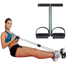 Gym Workout Body Building Trainer Tummy Action Rower Trimmer Abs Exerciser Black