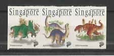 SINGAPORE 1998 DINOSAURS SG,916-918 U/MM NH LOT 1624A