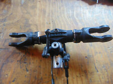 HIROBO SHUTTLE MAIN ROTOR HEAD & FLYBAR SEESAW ASSEMBLY WITH METAL CONTROL ARMS