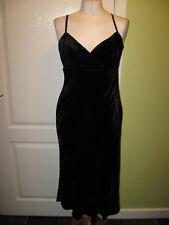 £20.99 BNWT NEXT SIZE 10 LADIES BLACK VELVET EVENING DRESS