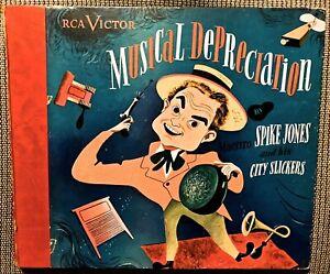 Spike Jones Musical Depreciation - 1940s RCA Victor 5-record Album
