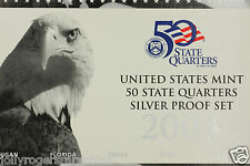 United States Mint, Silver Proof State Quarters. 2004 S