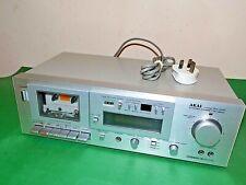 AKAI Stereo Cassette Deck Hifi Vintage GX-M10 Single Tape Japan Dolby Quality