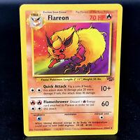 Flareon - Jungle Unlimited 19/64 - WoTC Non-Holo Rare Pokemon Card