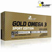 Gold Omega 3 30 -180 Caps Cold Water Fish Oil DHA EPA 1000mg Fresh Heart Health
