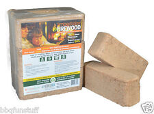 Timber Smart Firewood Alternative 6 Piece 20 lbs Campfires Fireplaces Stoves