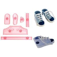 UK - Baby Shoes Baking Set Fondant Cake Making Mold Decorating Tools mould