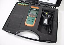 NEW Extech Instruments SDL310 Gas Air Vane Thermo-Anemometer Datalogger w Case