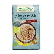 (13,31/kg) Allos Amaranth Noix des céréales BIO 375 g