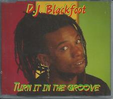 DJ BLACKFOOT - Turn it in the groove CDM 3TR Eurodance Ragga 1994 (MULTI DISK)