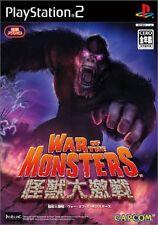 Gebrauchte PS2 Krieg der Monster Japan Import (versandkostenfrei)