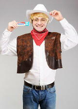 Mens Retro Milky Bar Kid Style Costume Kit
