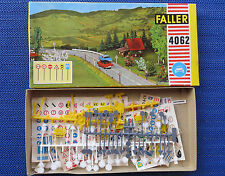 Faller AMS  4062 -- Verkehrszeichen-Set in OVP