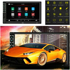 """7"""" Inch 2 DIN Car Stereo Radio HD MP5 FM/USB/AUX Player Touch Screen Mirror Link"""