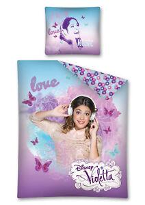 Disney Violetta Kinder Bettwäsche Kinderbettwäsche