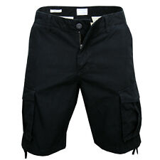 Jack & Jones ANAKIN  Cargo Shorts Black Schwarz NEU