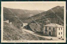 Genova Borzonasca Casa del Bocco PIEGHINA cartolina KF2326