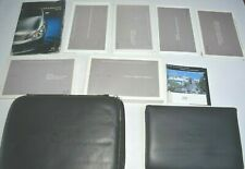 2007 INFINITI G35 OWNERS MANUAL GUIDE BOOK SET WITH CASE OEM