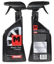 (2) M TECH Wheel + Tire Cleaner Foaming Action Non Acidic Spot Free 24 oz