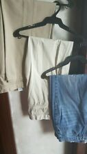 SET OF 3:GIORDANO, DOCKERS & BOSSINI MEN'S RELAXED FIT PANTS,Size 34