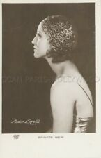 BRIGITTE HELM  1930s  VINTAGE POSTCARD ORIGINAL #7 CP