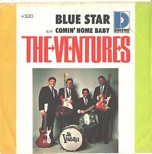 VENTURES--PICTURE SLEEVE + 45---(BLUE STAR)---PS--PIC--SLV