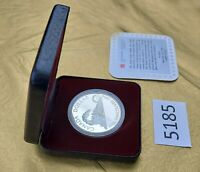 "1986 Silver Proof Canadian Dollar ""Train"" Original Box w/COA, Uncirculated, Fine"
