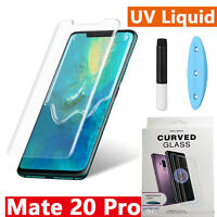 Full UV Glue Curved Liquid Tempered Glass For Huawei Mate 20 PRO/Mate 20/30 PRO