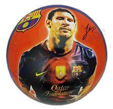 Ballon de foot Lionel Messi FC Barcelone, Ballon plastique Barça, football neuf